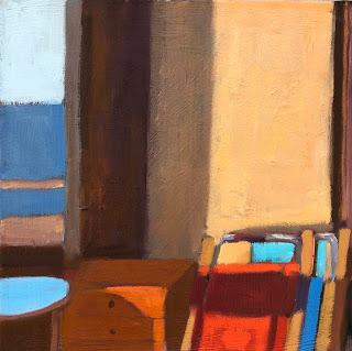 Corner View 14 x 14 oil