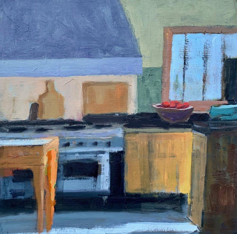 Donna's Kitchen 12 x12 oil