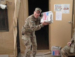 Swingle Collins supports the troops