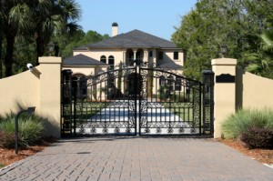 insurance credits for gated home