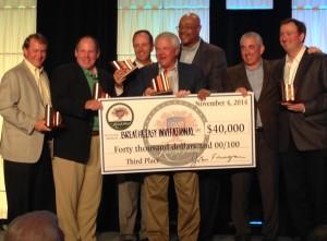 Swingle Collins Raises $40K for Cystic Fibrosis Foundation