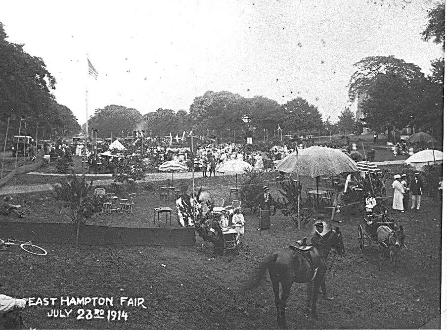 Fair on Village Green 1914
