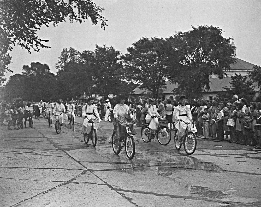 LVIS members  on bikes, LVIS 50th Anniversary