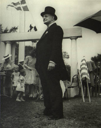 Mayor Judson L. Bannister at the 1945 Fair