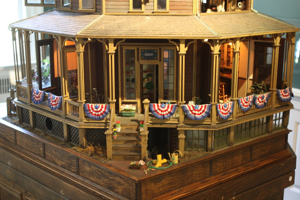 The Octogon Dollhouse - In 1980 Noel Thomas built the Octagon Dollhouse that now stands in the lobby of the house. It is an example of the Revival Style of the 1800s.View more →