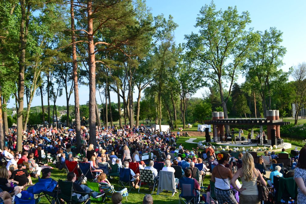 Conveniently Located in Milford - A summer night of music at the amphitheater