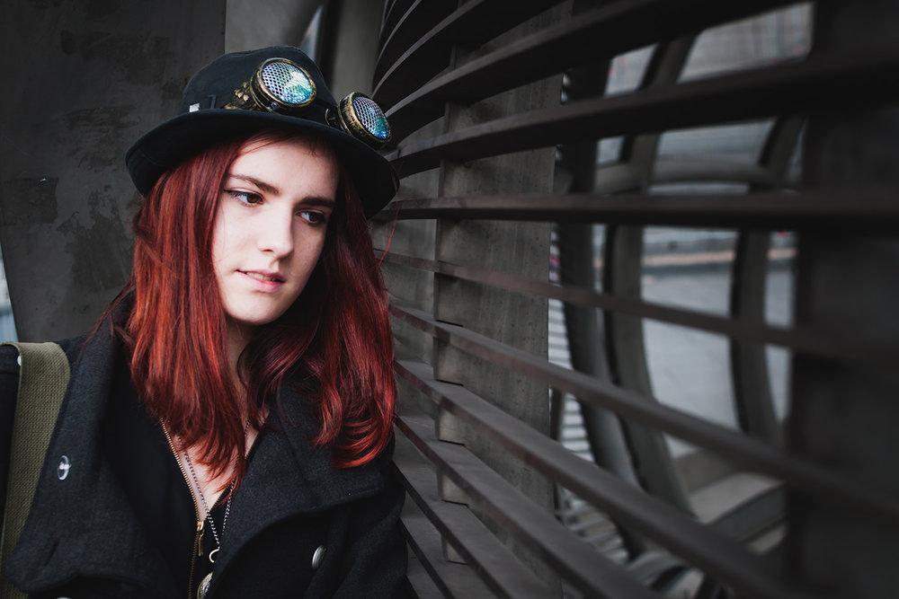 The aviator girl