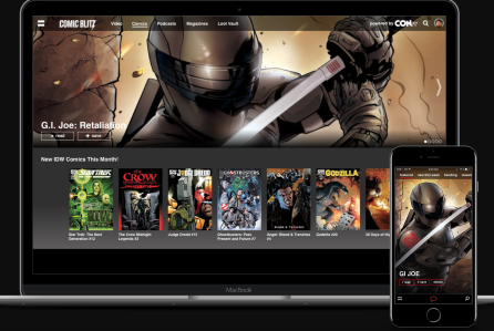 Cinedigm To Acquire Digital Comic Book Service ComicBlitz -