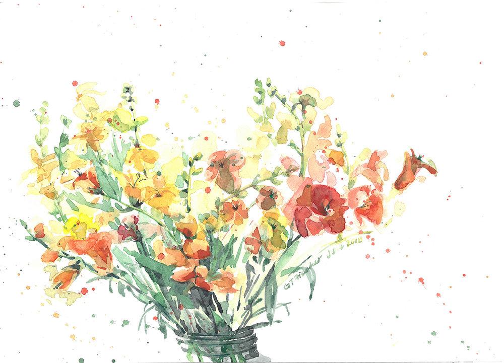 Flowers from Laura's Garden