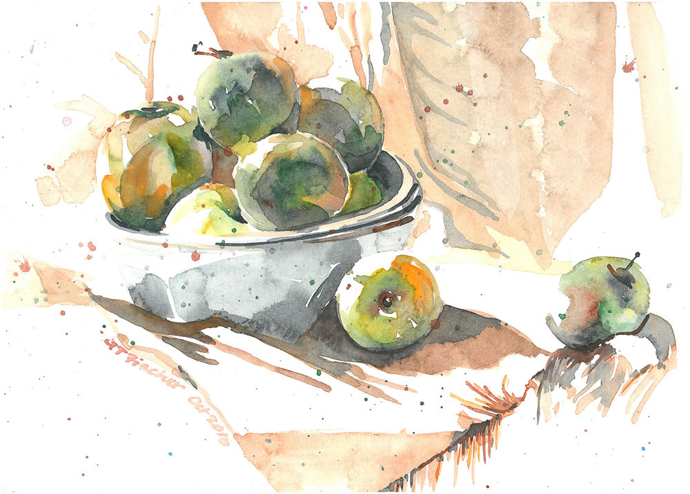Apples in Still Life