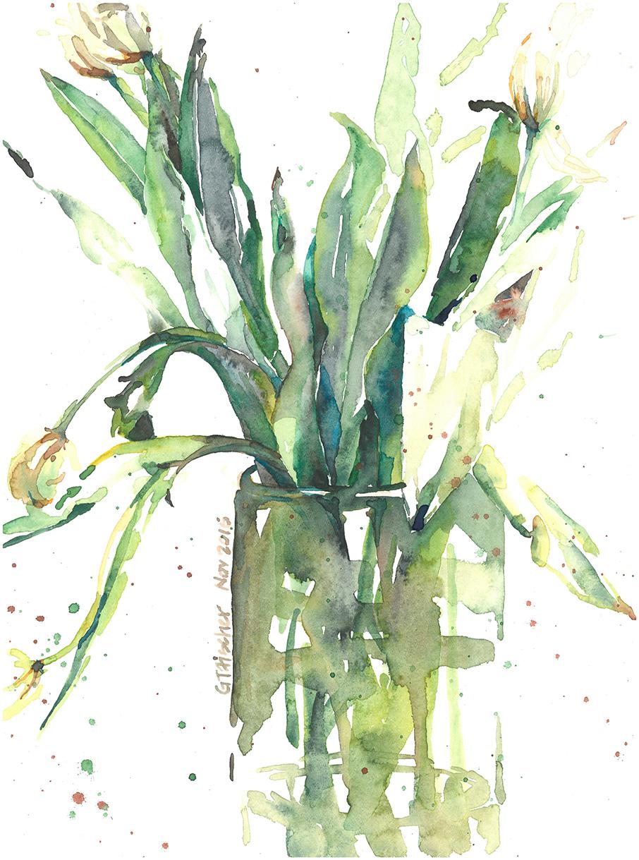 Wilting Tulips II