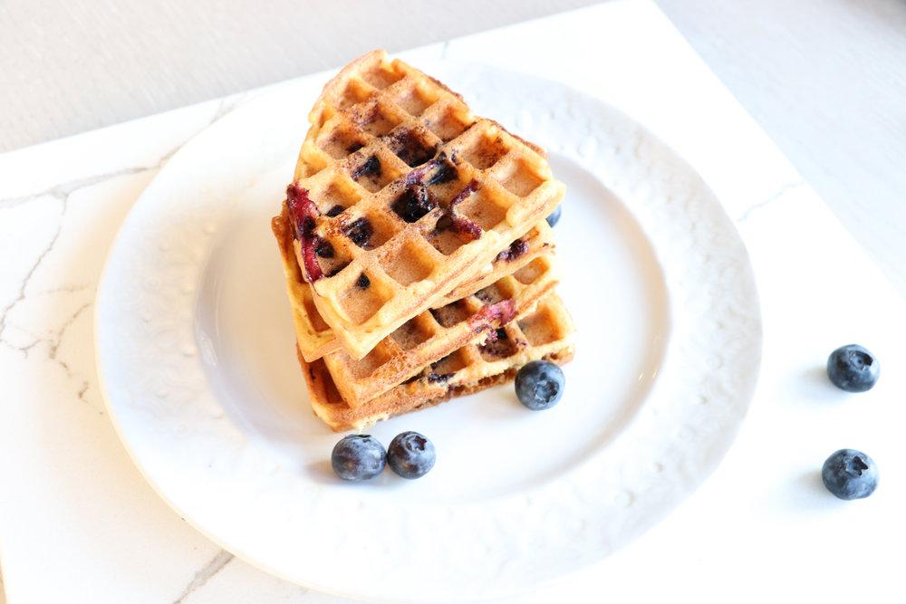 The little big spoon waffles