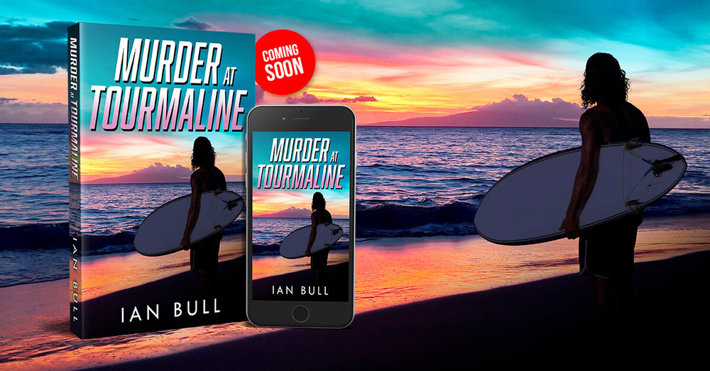 Murder at Tourmaline - Tourmaline Beach is a historic surf spot in San Diego where you can ride waves all day and then enjoy the sunset. But when a German female tourist is murdered on a perfect summer evening, there are no suspects and no answers. It looks like a cold case until San Diego Police Detective Lucy Mendoza digs deeper and discovers a string of similar murders over the years, at beaches that stretch up the California coast to Mendocino.