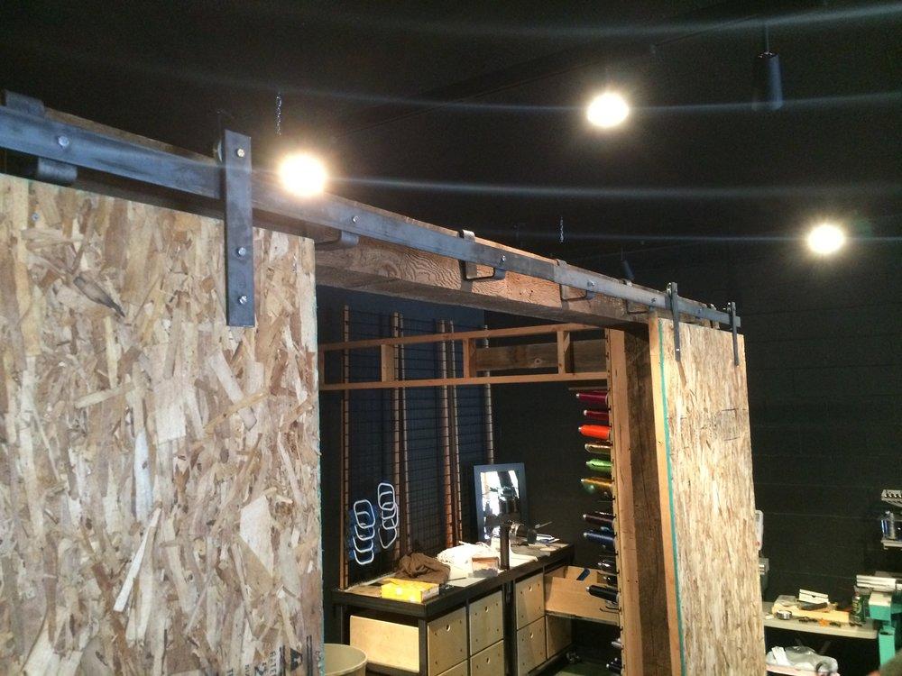 Barn Door kit custom built to size