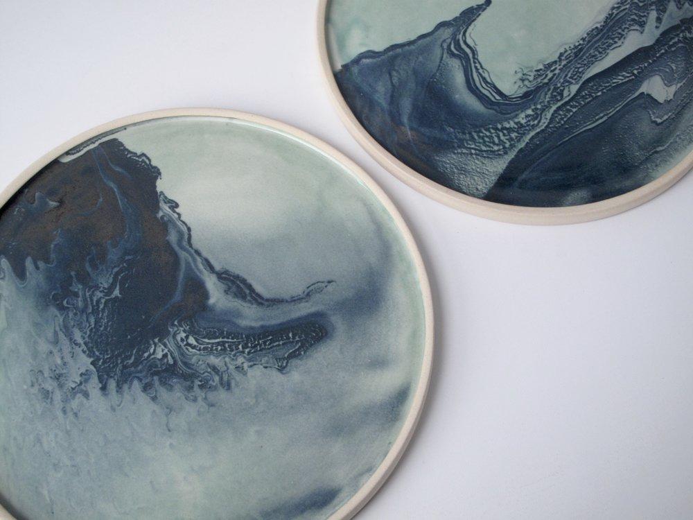 Marbled Platter    £48   ⌀29cm