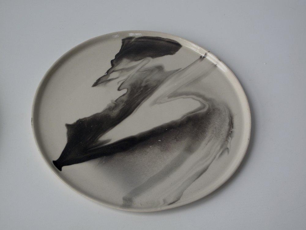 Storm Dinner Plate