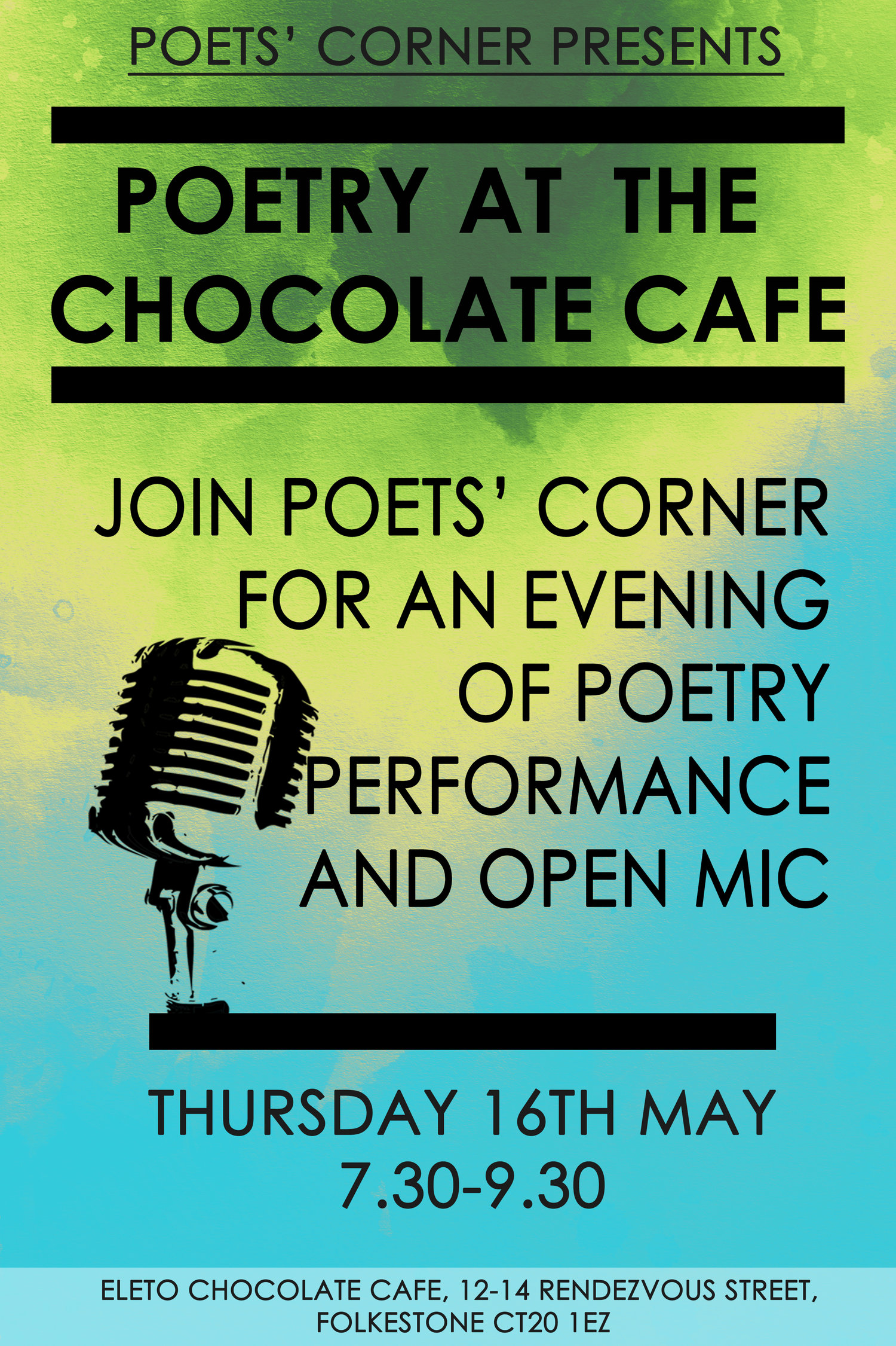 Poets Corner Christmas Edition At Eleto Chocolate Cafe