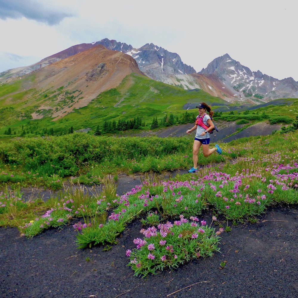 SAN JUAN MOUNTAIN RUNNING ADVENTURE - 7-Day running tour on scenic mountain trails from Telluride to Ouray, Colorado• July 21 - 27, 2019 •
