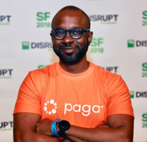 Tayo Oviosu   Founder & CEO,  Paga  Tayo is the founder & CEO of Paga (www.mypaga.com). Paga is a mobile payment company, building an ecosystem to enable people digitally send and receive money as well as creating simple financial access for everyone. Paga is the leading mobile money service in Nigeria, its first market. Prior to Paga, Tayo was Vice-President at Travant Capital Partners, a private equity fund in West Africa. Prior to joining Travant, Tayo was a Manager, Corporate Development, at Cisco Systems in San Jose California. Tayo's work at Paga has been recognized globally - in 2014 CNBC selected Tayo as the Entrepreneur of the Year West Africa.