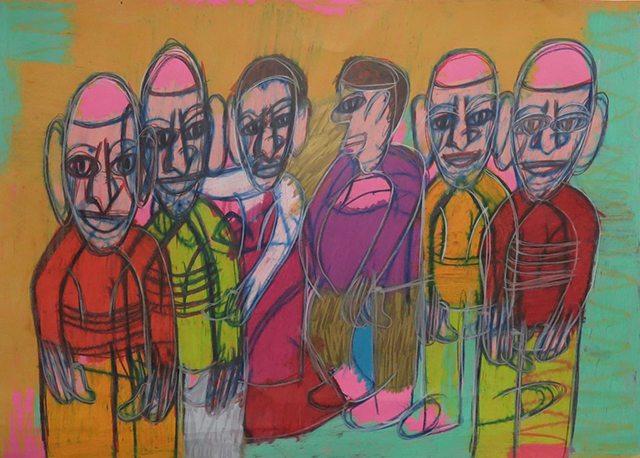 "George Wilson, Untitled, 2013, 20"" x 27.5"""