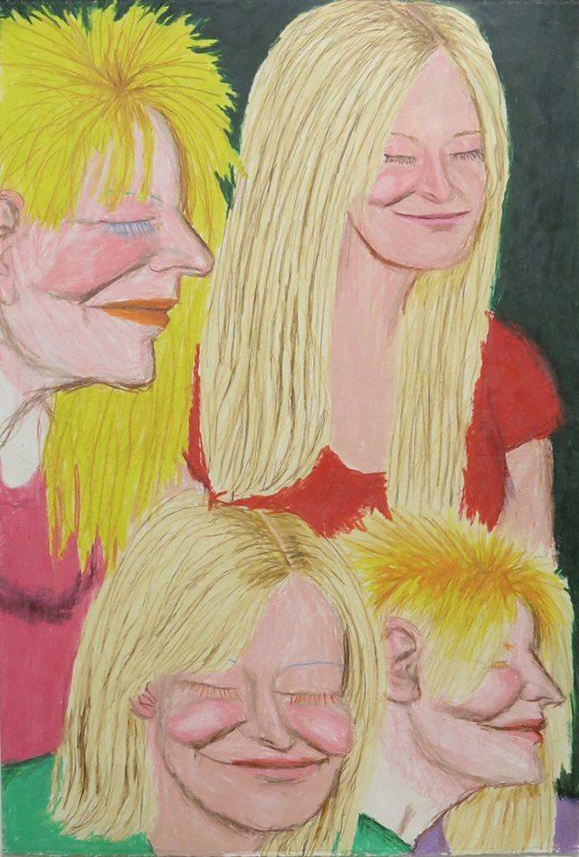 """Terri Bowden, Untitled, 2012, 15"""" x 22"""""""