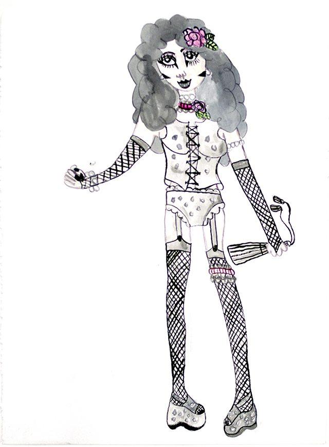 gender-bender_aurie-ramirez_2016_watercolor-and-ink-on-paper_11x15