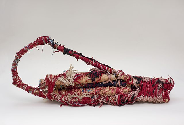Judith Scott, Untitled, 1992, mixed media, 38 x 15 x 5 inches