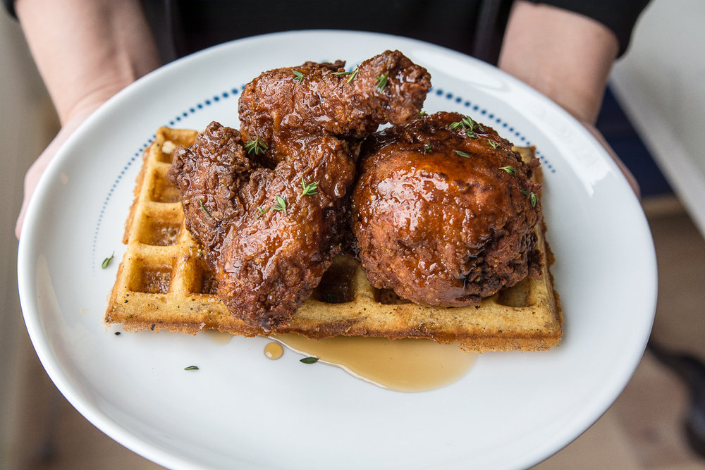 Liberty Common Half Fried Chicken & Waffle .jpg