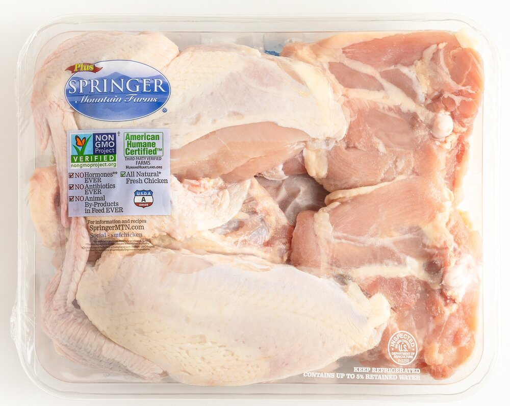 Whole Chicken Cut-Up