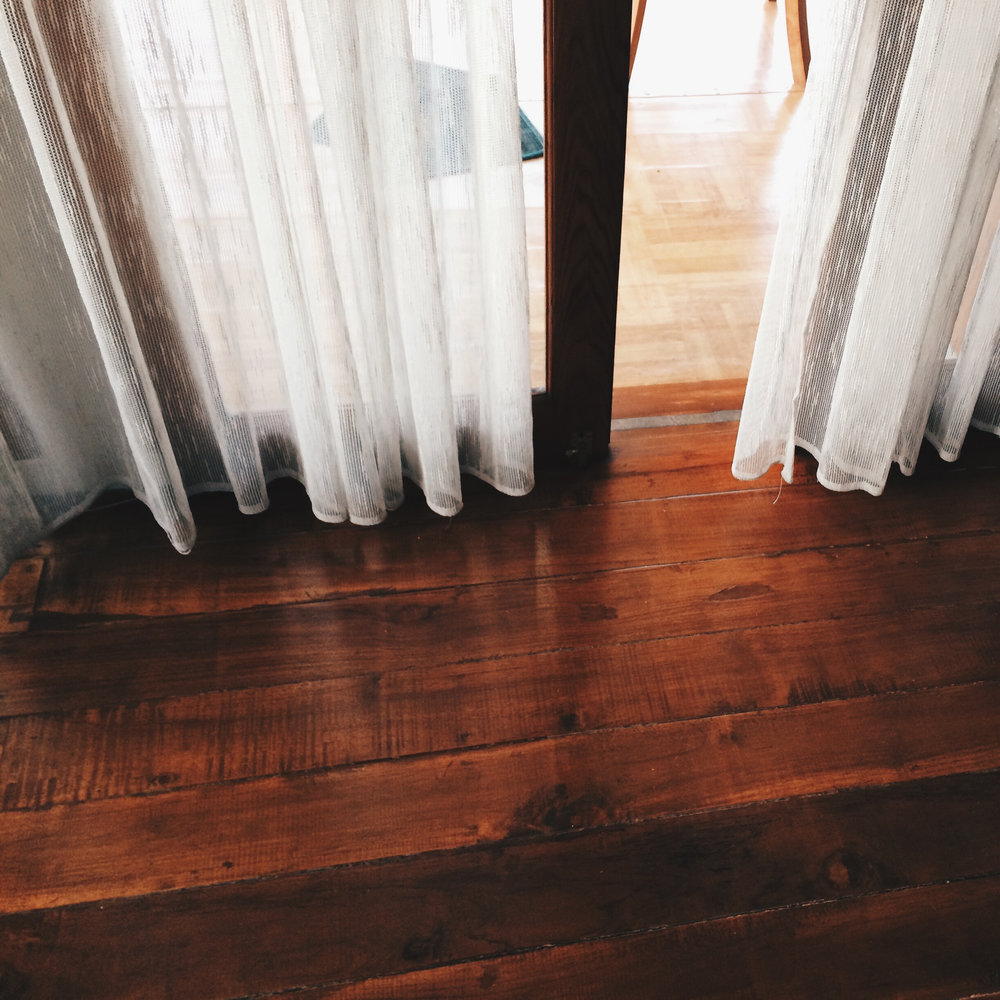 RESTORATION - If you have existing hardwood floors that have seen better days due to wear and tear or lack of maintenance, they may be best served by a re-sand and re-finish than a complete replacement. Consult with a member of our team to see if your floors can be restored to their former beauty, or beyond!