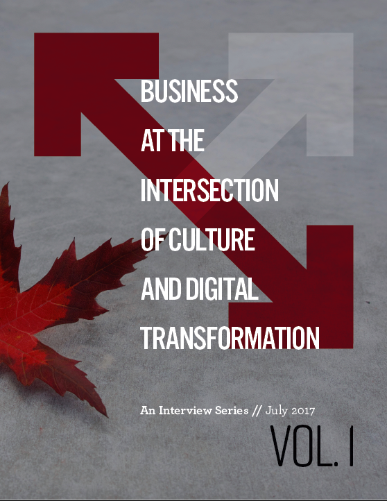 TRANSFORMATION STARTS WITH CULTURE - Starbucks, Coca-Cola, L'Oreal, Sick Kids Foundation and Economical Insurance are featured in Volume 1