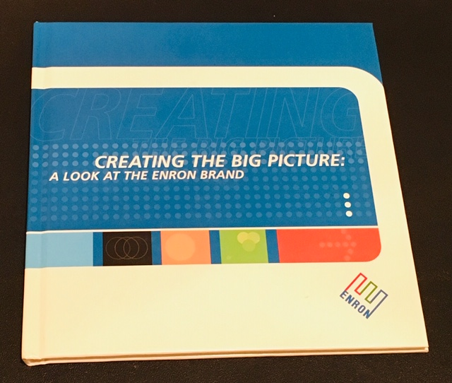 THE ENRON EMPLOYEE HANDBOOK - One of my fondest client experiences