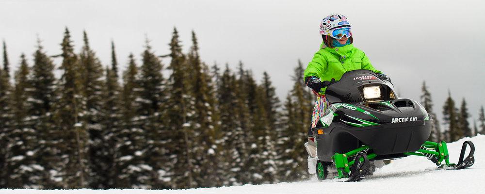 8. KIDS' SNOWMOBILING -