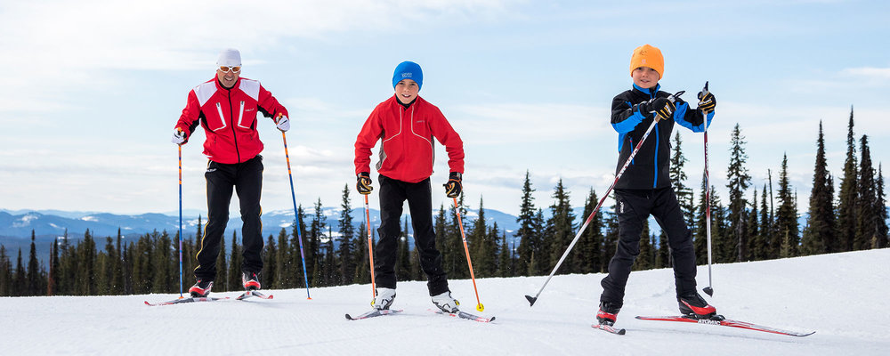 4. CROSS-COUNTRY SKIING -