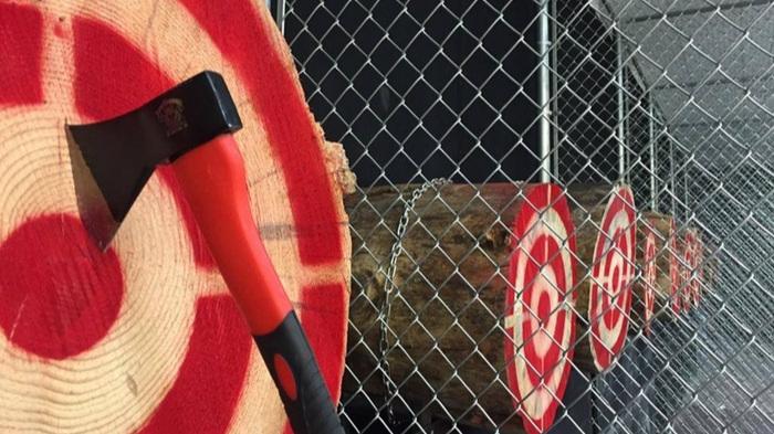 Axe Monkeys Axe Throwing Games - Axe throwing fun!3190 Sexsmith Rd KELOWNA map