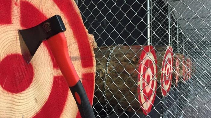 Axe Monkeys - Axe throwing isn't just for lumberjacks!3190 Sexsmith Rd KELOWNA -map-