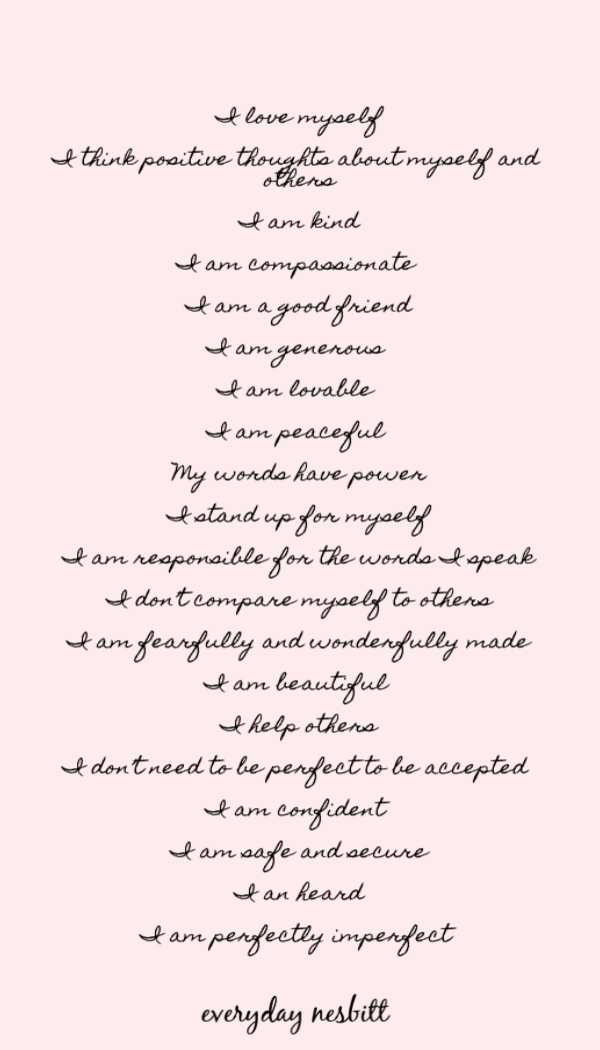 Daughter Affirmations