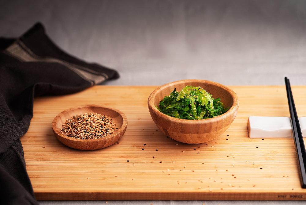 Ensalada de wakame - Ensalada fresca de wakame.