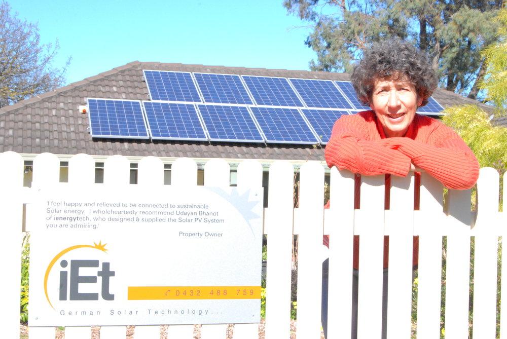 2.53kWp SolarWorld AG / SMA SB2500 Solar PV system