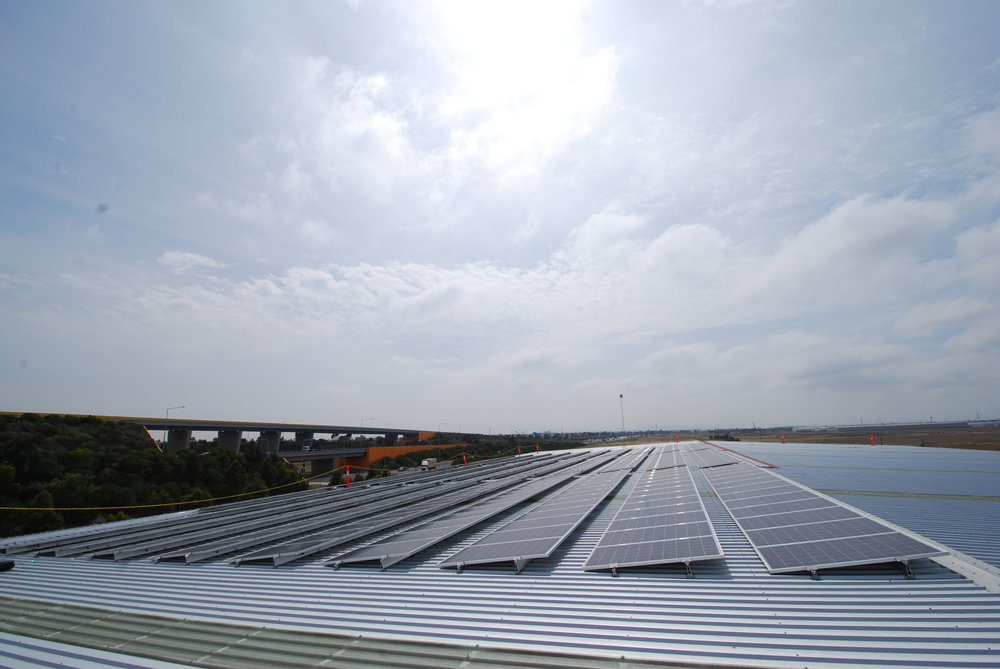 100kWp at the Holmwood Group.