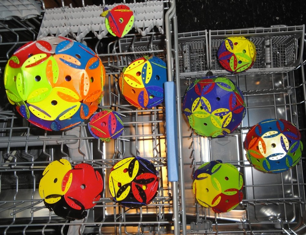 Dishwasher SafeDurable Material - Space Chips™ are intuitive, easy to construct & are made of high quality, durable material for continued use & excellent play value.