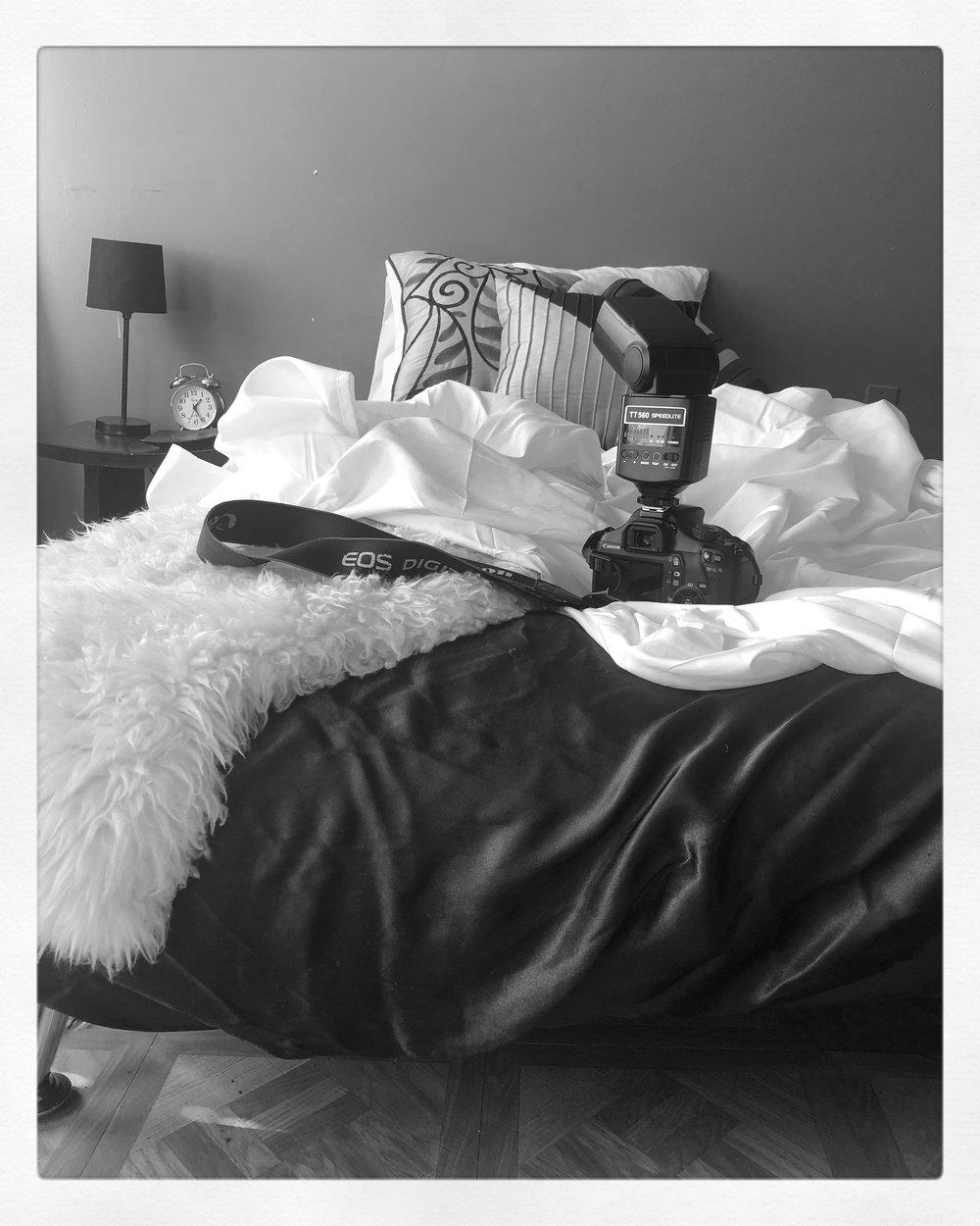 Peak into the bedroom set