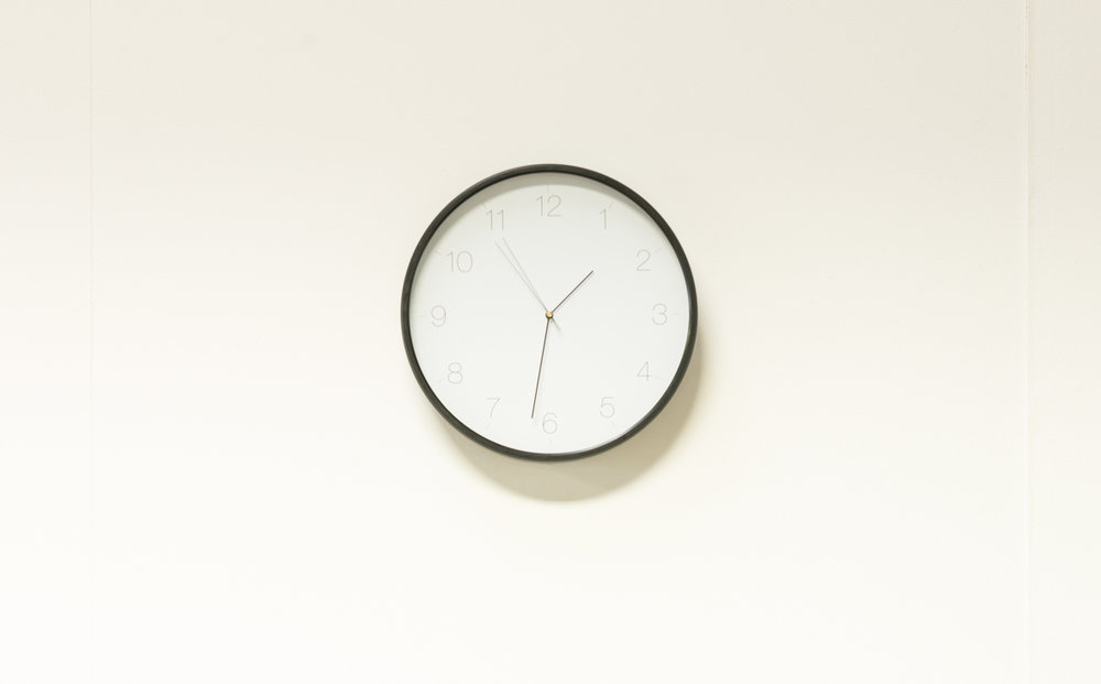 Megan Kennedy, 5 Seconds Later, 2017, clock, micro-controller, photo credit- Nick Archer .jpg