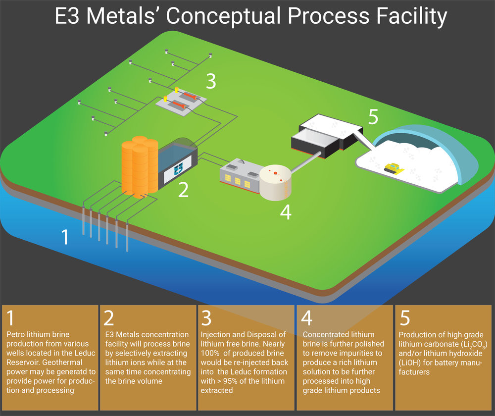 Conceptual commercialized production facility.