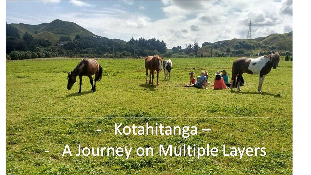 2017 - 4-day Kotahitanga retreatat Horse SenseŌtaki, New Zealand