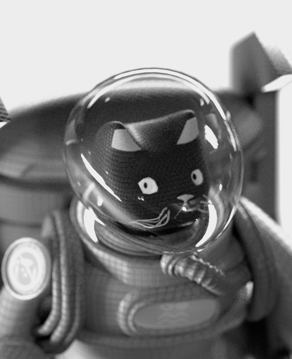 AstroCat - Astrocat is here from the future to warn us about the importance of every single human being on the planet doing their bit to live a sustainable lifestyle. The decisions you make today will have a far-reaching effect on all of us tomorrow. Join the #ArtxTechforGood movement today.