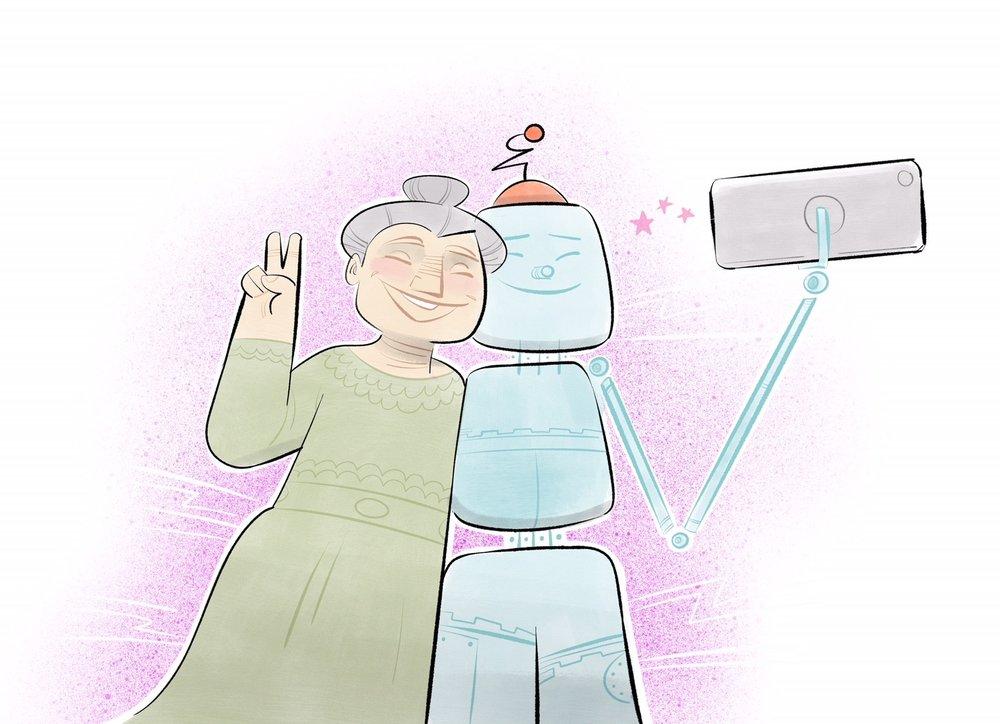 Wie sollten Roboter aussehen und was müssen sie können, um mit Menschen zusammen-zuleben? -