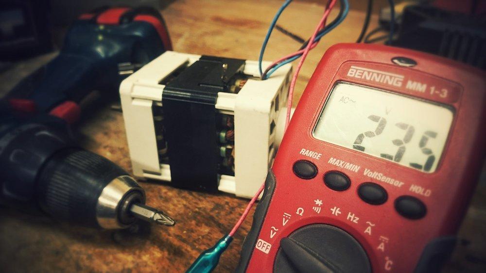 Misure di verifica dell'impianto e delle macchine elettriche -
