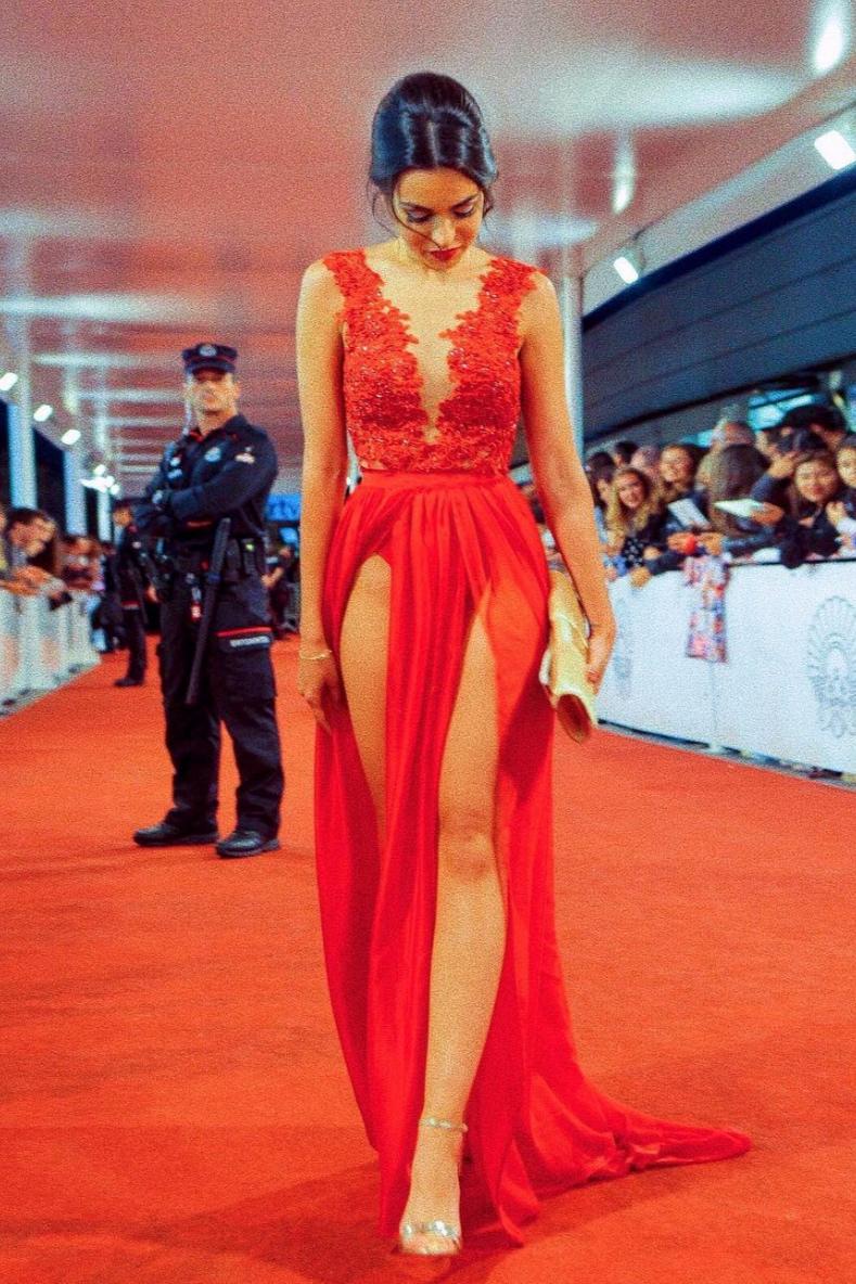 Anabel Hernández - en el festival de San Sebastian de 2017.