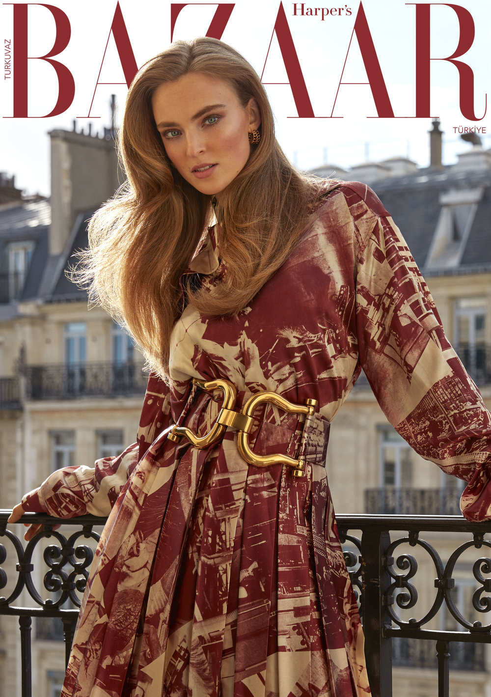 Harper's BazaarTurkey - 2018, March Issue Digital Cover Story